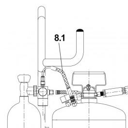 Air pressure hose Reg - Trolley