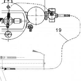 Druckluftschlauch Impuls-Pistole