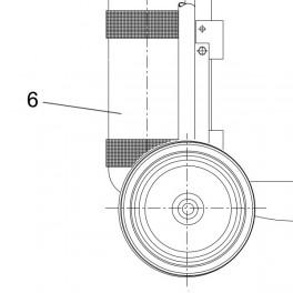 6.0 Liter 200 bar Zylinder kpl.m. Ventil